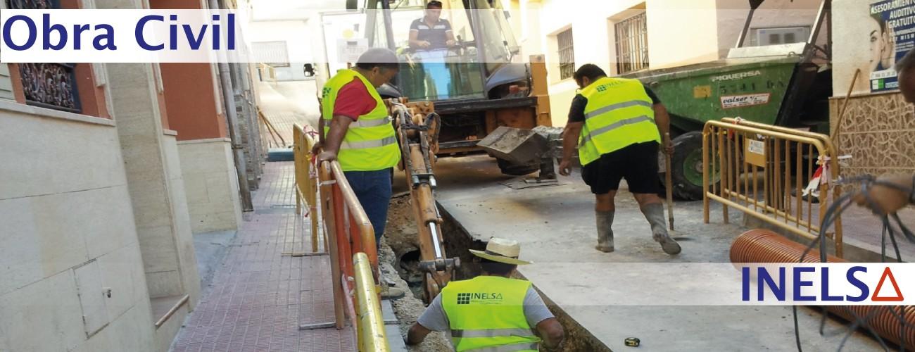 Empresa de Construcción de canalizaciones precios en Alicante