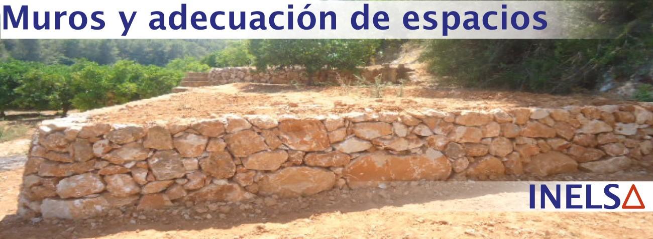 Empresa constructora de muros de piedra mampostería cerramientos en Alicante