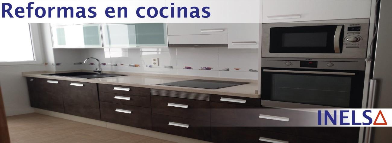 Empresa de Reformas y obras en cocinas en casas y viviendas en la Provincia de Alicante