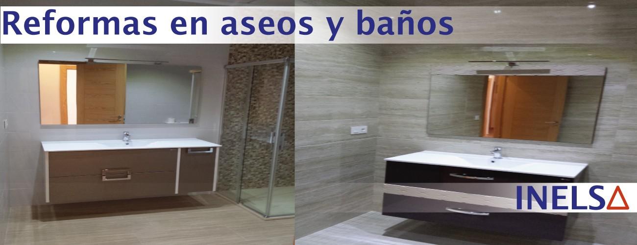 Empresa de Reformas y obras en baños y aseos en casas y viviendas en la Provincia de Alicante