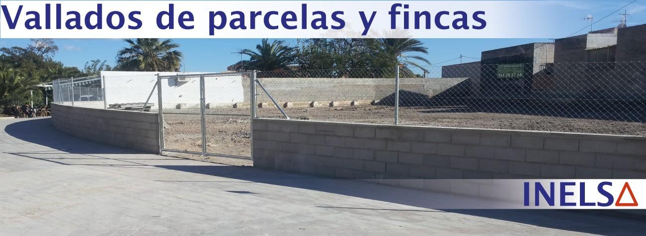 Empresa constructora de vallado en parcelas y fincas en Alicante