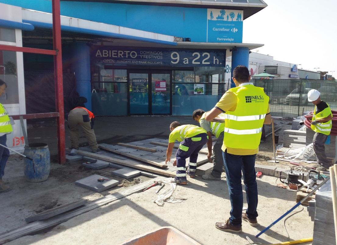 Empresa constructora pavimentación de calles en Alicante