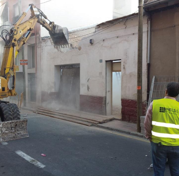 Empresa de derribos de edificios en Alicante presupuesto