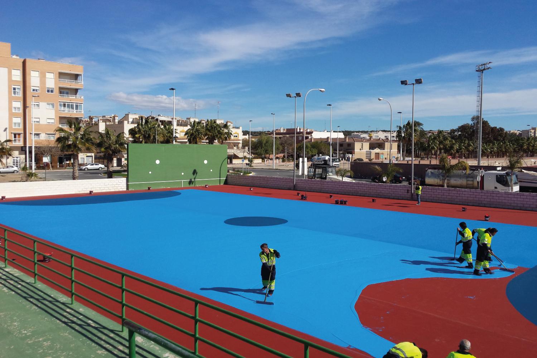 Construccion de Pista deportiva precio en Alicante