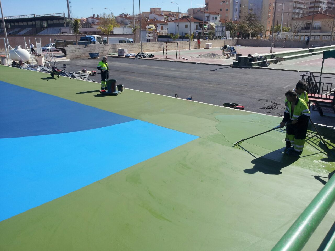 Construcción de Pista deportiva Alicante
