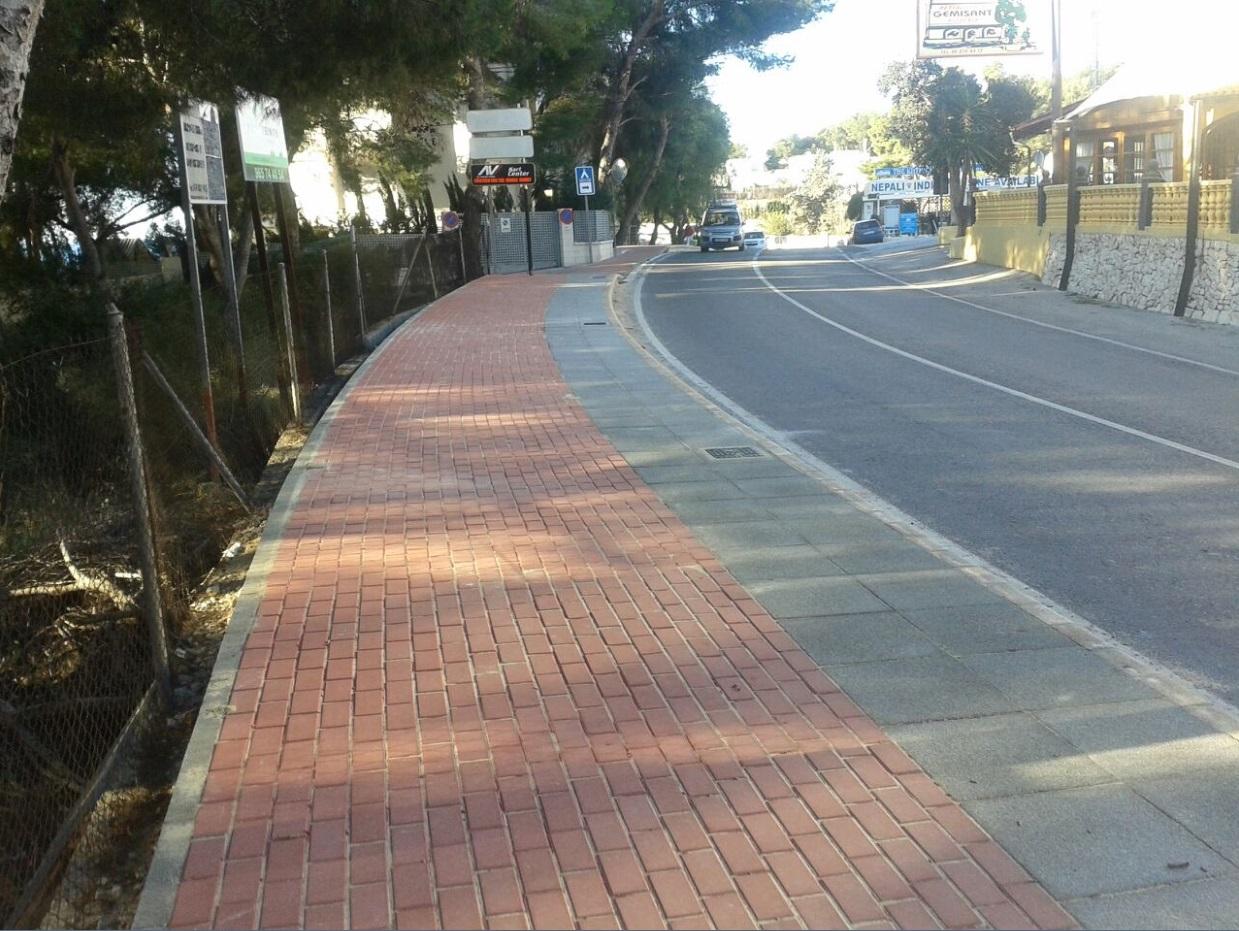 Obras a o 2015 empresa constructora alicante - Pavimentos para aceras ...
