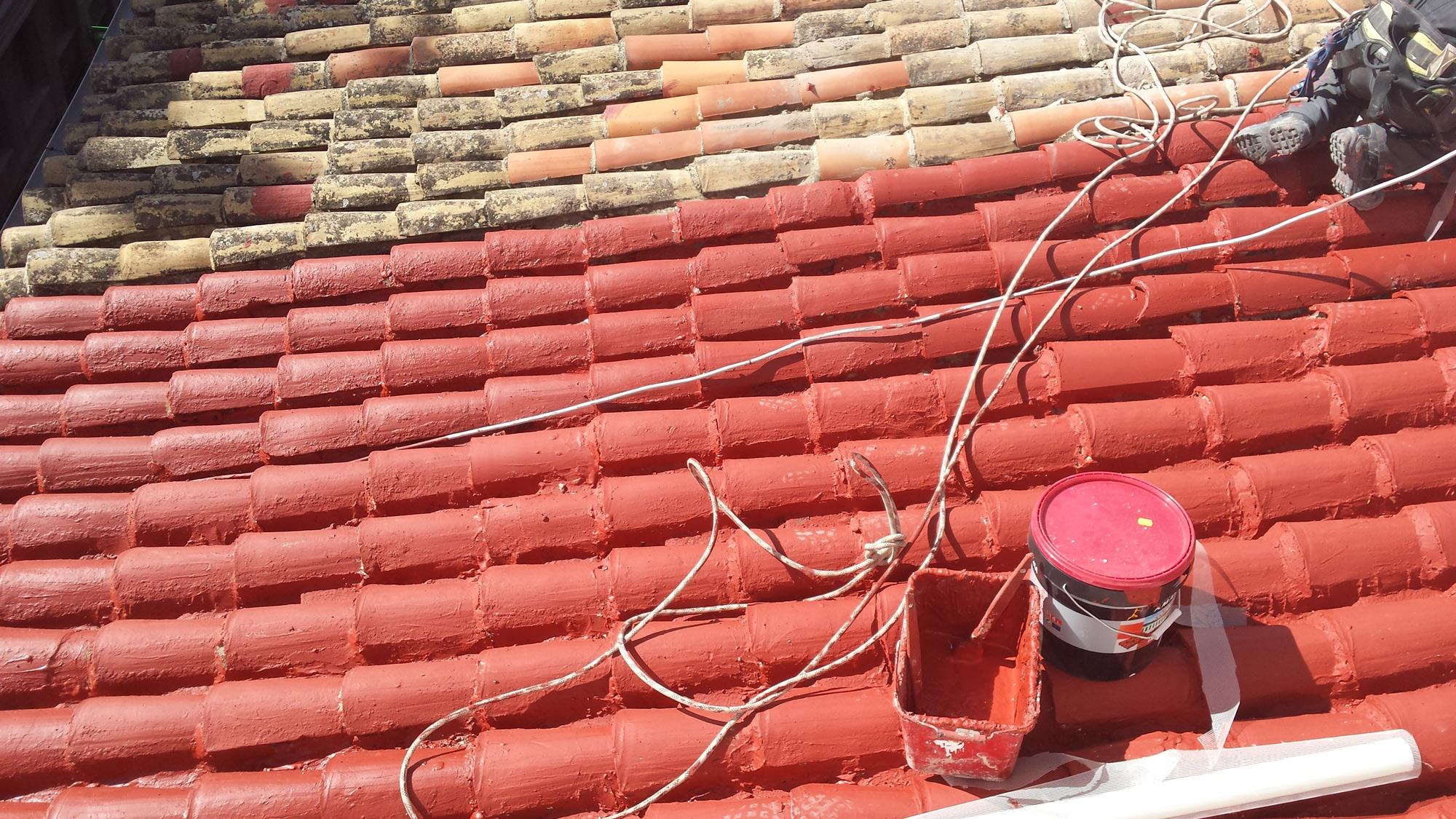 Rehabilitaci n impermeabilizaci n cubiertas tejados alicante - Clases de tejas para tejados ...