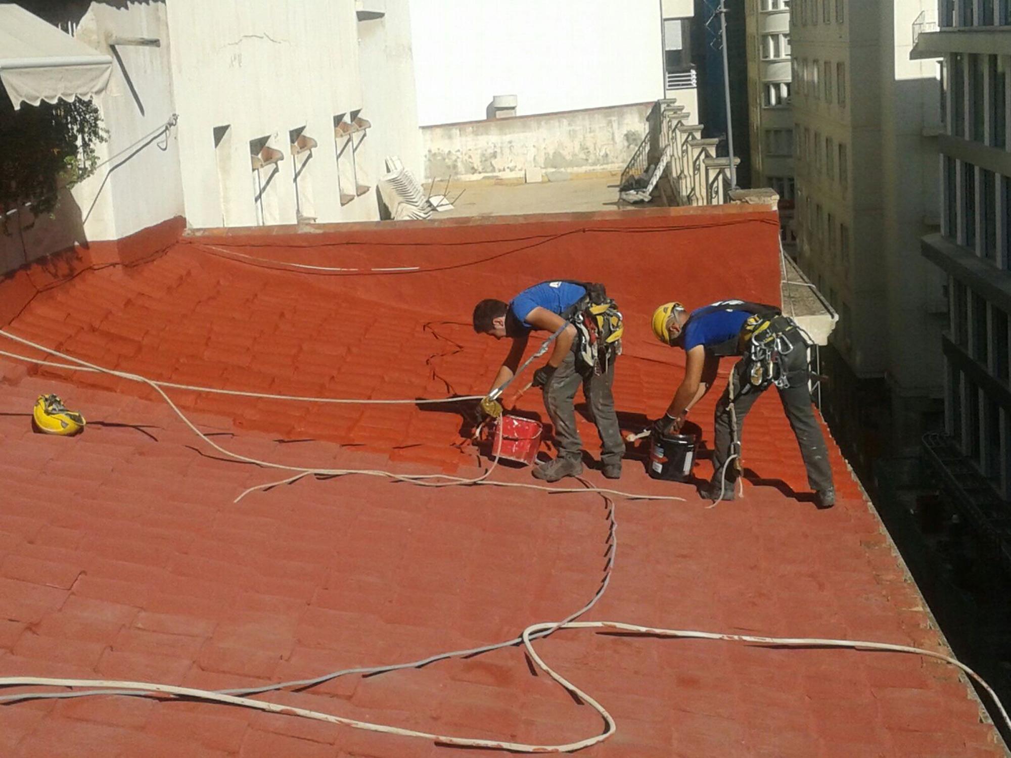 Impermeabilizacion reparacion cubierta tejado alicante inelsa empresa de construcci n en alicante - Impermeabilizacion de tejados ...