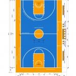 Construcción de pistas baloncesto